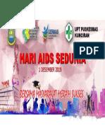 Spanduk Aids 2019