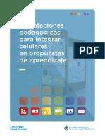 Orientaciones pedagógicas para integrar celulares en propuestas de aprendizaje