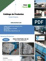 ALCAMARE Catalogo de Productos Division Papel