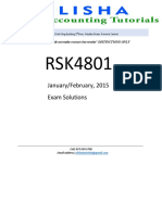 Rsk4801 Janfeb 2015 Solutions