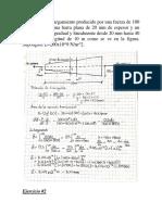 Ejercicios de Resistencia de Materiales ( Examen)