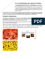 Productos tradicionales y no tradicionales que exporta el Ecuador (Autoguardado).docx