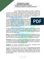 Práctica 5A. Inventario forestal 2019-2
