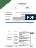 CRONOGRAMA DE ACTIVIDADES CMD
