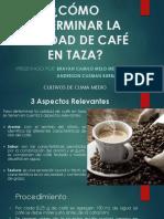 Calidad de Café en Taza