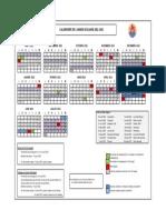 Calendrier Scolaire 2022-2023