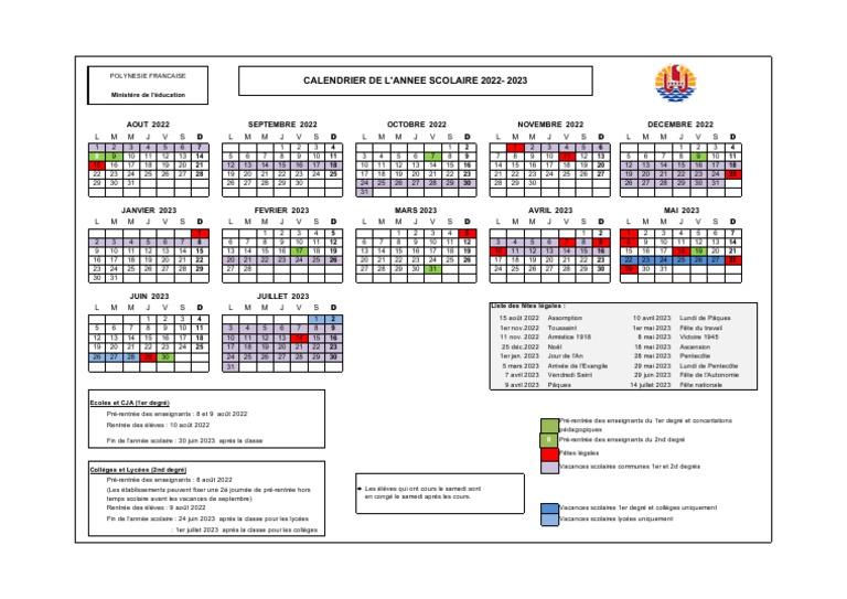Calendrier Scoalire 2022 2023 Calendrier Scolaire 2022 2023 | Pâques | Noël