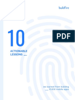 10 Actionable Lessons eBook