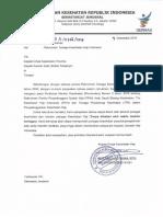 Surat Edaran Rekrutmen Tenaga Kesehatan Haji Indonesia