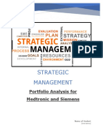 Strategic Management Medical Equipment 2