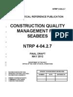 NTRP 4-04.2.7