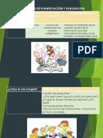 2.10 Procesos de planificación y Evaluación
