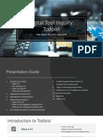 digital tool inquiry