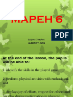 MAPEH 6 PPT