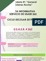 USAER 262 PRESENTACION EQUIPO