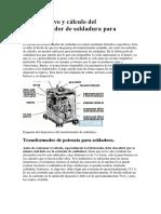 El dispositivo y cálculo del transformador de soldadura para.docx