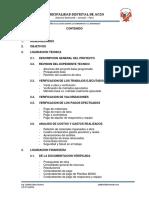 Informe de Liquidacion de Obra Chondabamba