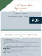15 - Deferred Prosecution Agreements