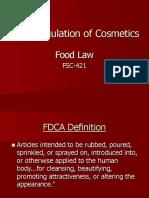The Regulation of Cosmetics.ppt