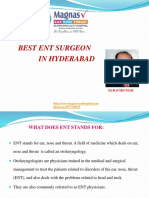 Best ENT Surgeon in Hyderabad | ENT Hospital