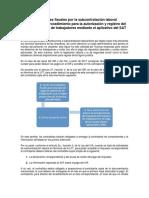 Obligaciones Fiscales Por La Subcontratación Laboral 2