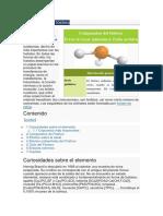 caracteristicas del fosforo