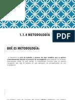 1.1.4 metodologia