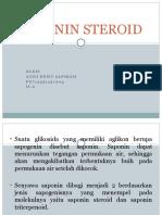 SAPONIN STEROID (2).pptx