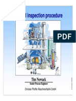 Ball mill inspection procedure