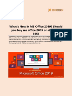 Get the hottest products with most competitive MS office 2019