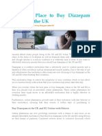 Buy Diazepam UK