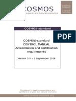 Cosmos Standard Control Manual v3 0