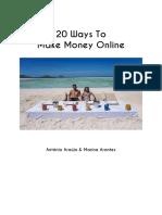 20 Ways To Make Money Online.pdf