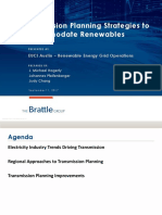 5610 Transmission Planning Strategies to Accommodate Renewables