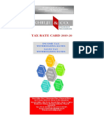 FOR TAX CARD 2019-2020