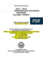 Global Ugrad Prog Appl 2011