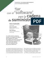 Acertar Con El Software Para La Cadena de Suminis