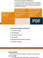 R1 Type of Qualitative Research