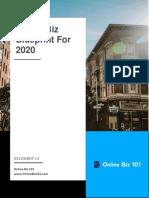 Online Biz Blueprint For 2020