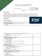 CSE602 - Data Warehousing & Data Mining
