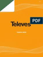 201912 Televes Es Tarifa 2020 España Península
