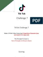 tiktok challenge 7  speech communication
