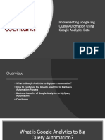 Implementing Google BigQuery Automation Using Google Analytics Data