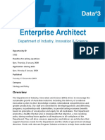 Data#3 - Enterprise Architect - Industry