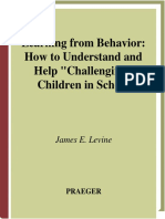 (Child Psychology and Mental Health) James E. Levine - Learning from Behavior_ How to Understand and Help Challenging Children in School-Praeger (2007).pdf