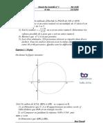 Devoir de Controle n1-1ere Annee Secondaire-maths-2009-Mr Zribi -Lycee Marsa Elriadh