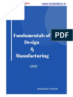 Fundamentals of Design & Manufacturing Notes-Amie Sec A