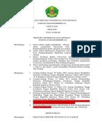 PERATURAN REKTOR UNIVERSITAS AUFA ROYHAN tentang tata naskah.docx
