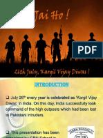 The Kargil War ppt