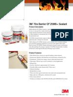 ANZ TDS Fire Barrier CP25WB+